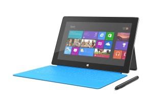 Microsoft Surface Windows Pro, stylet inclus, clavier en option.