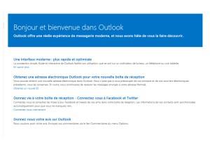 Microsoft a officiellement lancé Outlook.com, le successeur d'Hotmail. Un e-mail gratuit sans pub.