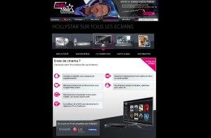 Holly Star est disponible sur les TV connectées de Samsung, LG et Panasonic.