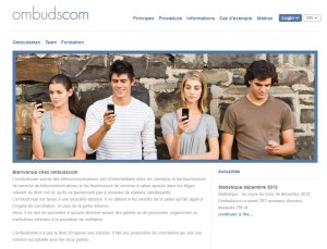 Le site ombudscom.ch.