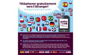 Etranger: la promotion de Yallo.