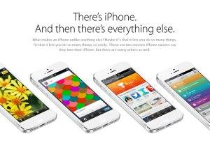 """Apple souligne, à juste titre, certains points forts de l'iPhone 5, mais oublie quelques """"détails""""..."""