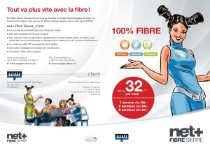 Fibre optique: Net Plus donne une leçon à Swisscom...