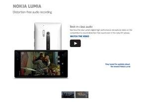 Le nouveau Nokia Lumia 928.
