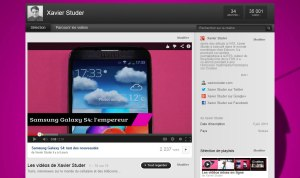 Xavier Studer sur YouTube.