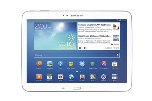La Galaxy Tab 3 10.1 de Samsung avec processeur Intel.