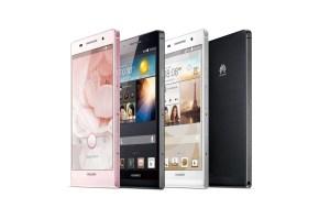 Le Huawei Ascend P6: un design très soigné.