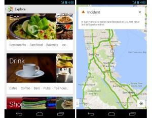 Google Maps pour Android fait peau neuve.