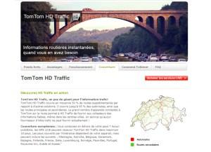 Tom Tom HD Traffic: en service depuis 2008 en Suisse...