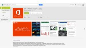 Office de Microsoft débarque timidement sur Android.