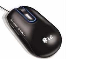 Cette souris de LG est équipée d'un scanner.