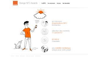 Orange promeut activement le NFC depuis des années.