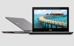 Le Chromebook Acer C720.