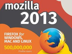 Mozilla Firefox cartonne.