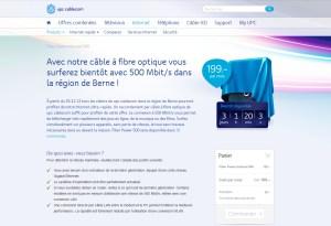UPC Cablecom teste le 500 Mbits/sec à Berne.
