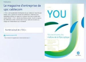 UPC Cablecom lance un magazine.