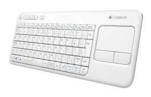 Le Logitech Wireless Touch Keyboard K400 possède un pavé tactile. Test.