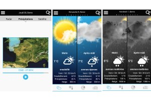 Meteo Suisse d'ID Mobile: encore plus fort!