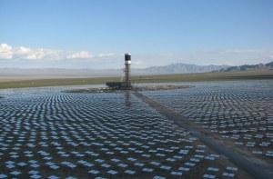 Google partenaire de la plus grande centrale solaire thermique au monde.