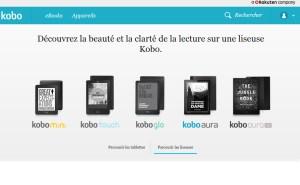 Les liseuses de Kobo.