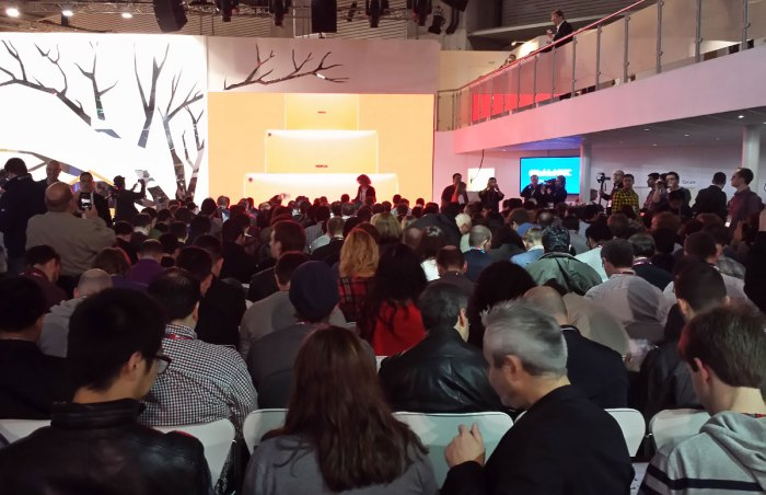 Nokia en force au MWC 2014.