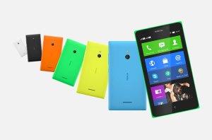 Le Nokia XL sous Android.