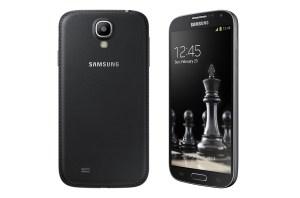 Le Samsung Galaxy S4 Black.