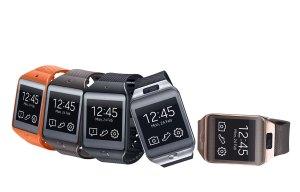 Les montres connectés Samsung Gear 2 et Gear 2 Neo.