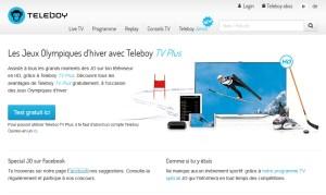 Teleboy profite des jeux olympiques de Sochi pour faire la promotion de son offre HD.