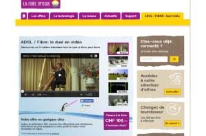 Les SIG font la promo de la fibre optique.