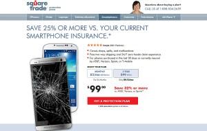 Square Trade assure votre smartphone.