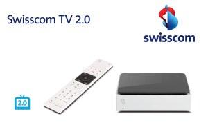 Swisscom TV 2.0: un nouveau design, une nouvelle télécommande et des enregistrements sans limite.