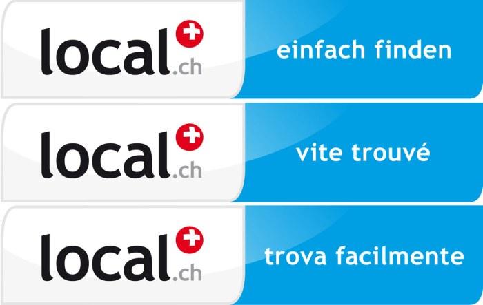 Les services de local.ch.