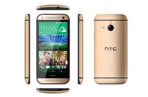 La version dorée du HTC One Mini 2 est prévue dans un deuxième temps.