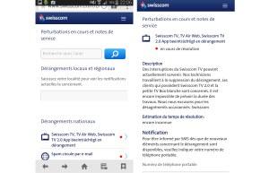 Swisscom TV était en panne vendredi soir.