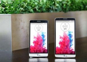 Le LG G3 S en compagnie du LG G3.