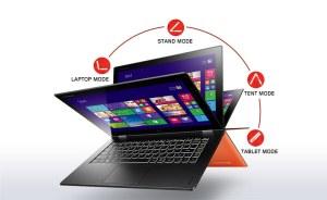 Le Lenovo Yoga 2 Pro de 13 pouces.