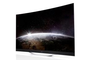 Une TV 4K OLED de LG.