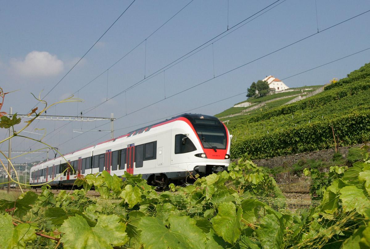 L'internet mobile s'est amélioré dans les trains. Image: CFF.