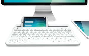 Le Logitech Bluetooth Multi-Device Keyboard K480.