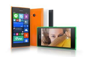 Le Microsoft (Nokia) Lumia 735.