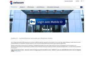 Mobile ID de Swisscom, Sunrise et Orange.