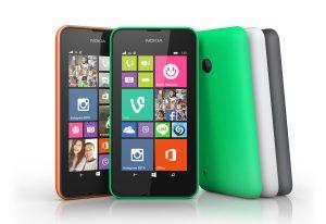 Le Nokia Lumia 530.