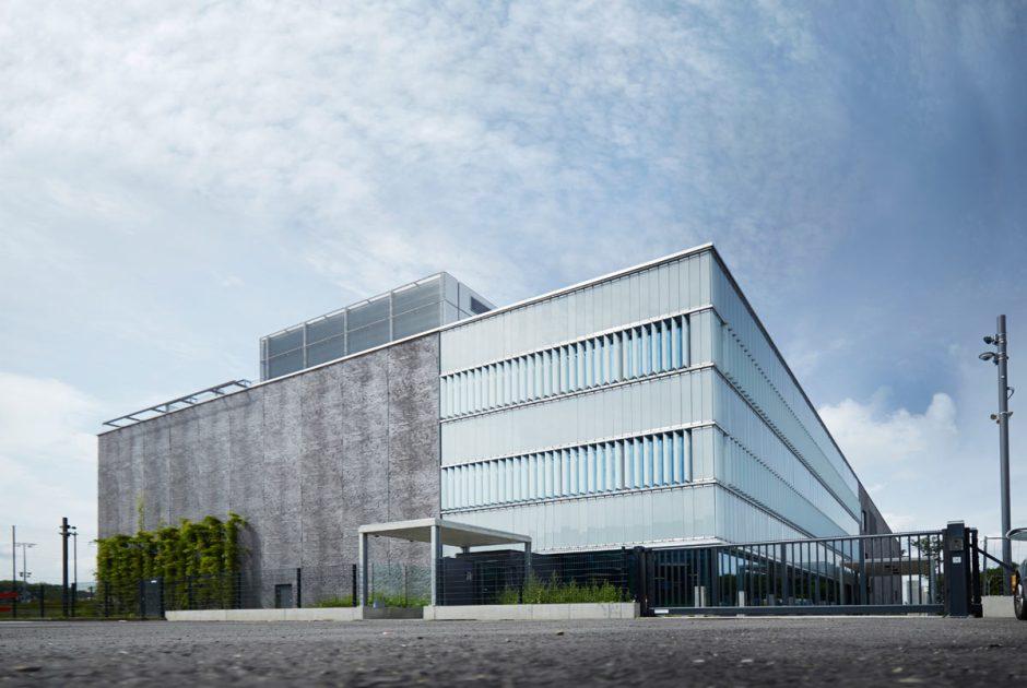 Le nouveau centre de calcul de Swisscom au Wankdorf.