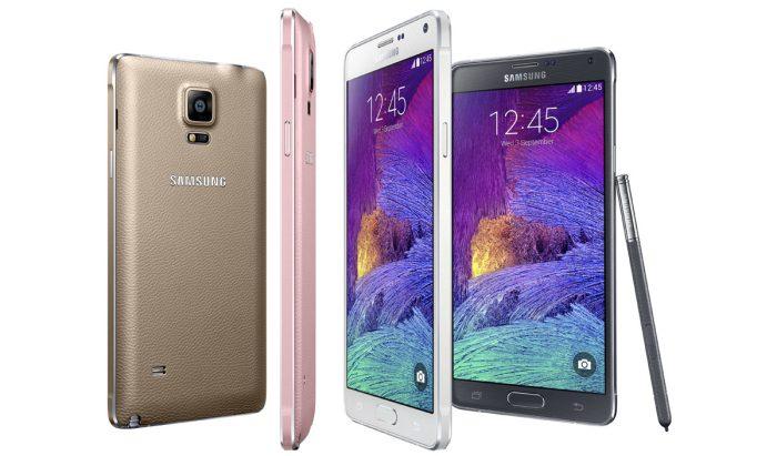 Le Samsung Galaxy Note 4. Filme et affiche des vidéos en Quad HD.