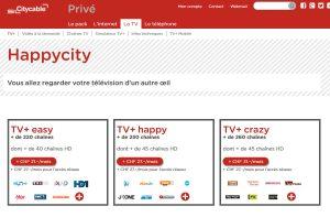 La TV+ de Citycable.