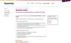 Sunrise Mail.