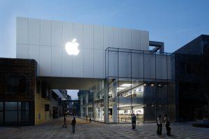Apple est aussi présent sur le terrain comme ici à Beijing.