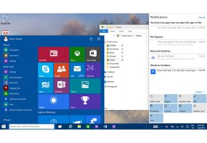 Microsoft Windows 10. Seconde Preview.