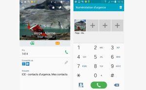 """Configurer la touche """"appel d'urgence"""" sur un Samsung Galaxy S5."""
